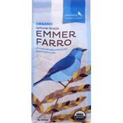 Bluebird Grain Farms Emmer Farro, Whole Grain, Organic