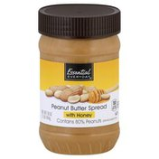 Essential Everyday Peanut Butter Spread, with Honey