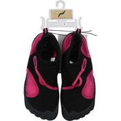Norty Water Shoe, Black-Fuschia, Size 3