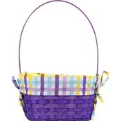 Publix Bamboo Basket with Liner, Medium