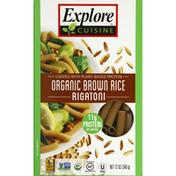 Explore Cuisine Rigatoni, Organic, Brown Rice