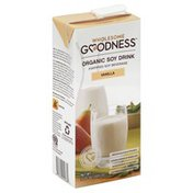 Wholesome Goodness Soy Drink, Organic, Vanilla