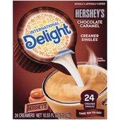 International Delight HERSHEY'S Chocolate Caramel Coffee Creamer Singles