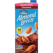 Almond Breeze Fortified Almond Beverage, Chocolate, Unsweetened
