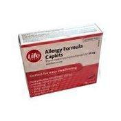 Life Brand Allergy Formula Caplets