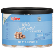 Hy-Vee Lightly Salted Whole Cashews