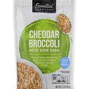 Essential Everyday Rice Side Dish, Cheddar Broccoli