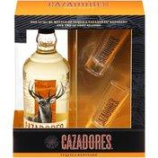 Cazadores Reposado Tequila & Shot Glasses Gift Set