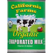 California Farms Evaporated Milk, Organic