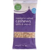 Food Club Roasted & Salted Splits & Pieces Cashews