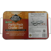 First Street Chafer Set, Party Pack