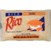 Rico's Parboiled Rice, 10 Lb