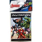 Avengers Invitations, with Envelopes, Marvel