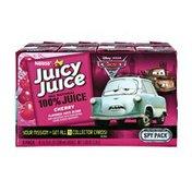 Nestle Juicy Juice Disney Pixar Cars 100% Cherry Juice - 8 PK