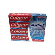Colgate Maxfresh Anticavity Fluoride Toothpaste, Cool Mint