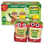 Mott's No Sugar Added Applesauce Variety Pack