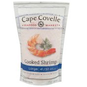 Cape Covelle Seafood Market Large Cooked Shrimp