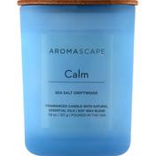 Aromascape Candle, Sea Salt Driftwood, Calm
