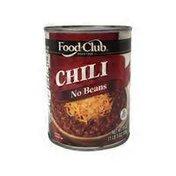 Food Club No Beans Chili