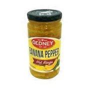 Gedney Hot Banana Pepper Rings