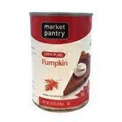 Market Pantry 100% Pure Pumpkin