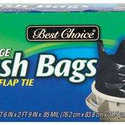 Best Choice Quick Tie Trash Bags