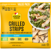 Foster Farms Grilled Strips, Classic, Value Pack