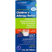 CareOne Sugar Free Children's Allergy Syrup