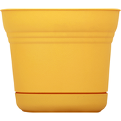 Bloem Planter, Saturn Earthy Yellow, 7 Inches