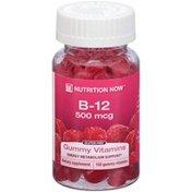Nutrition Now Vitamin B-12 500mcg Dietary Supplement Gummy Vitamins