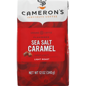 Camerons Coffee, Ground, Light Roast, Sea Salt Caramel