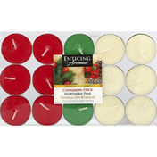 Enticing Aromas Candles, Scented Tea Light, Holiday Fragranced