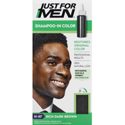 Just For Men Shampoo-In Color, Rich Dark Brown H-47