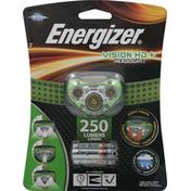 Energizer Headlight, LED, Vision HD+
