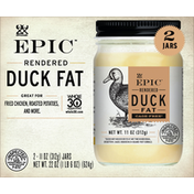 Epic Duck Fat, Rendered