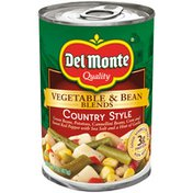 Del Monte Vegetable & Bean Blends, Country Style