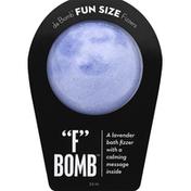 Da Bomb Bath Fizzer, F Bomb, Fun Size