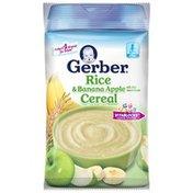Gerber 2F Rice Banana Apple Cereal Base Cereal Fruit