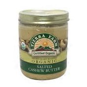 Tierra Farm Organic Salted Cashew Butter
