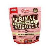 Primal Pet Foods Freeze-Dried Formula Beef & Salmon Cat Food