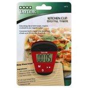 Taylor Digital Timer, Kitchen Clip