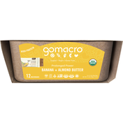 GoMacro Macrobars, Banana + Almond Butter
