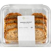 Publix Bakery Loaf Cake, Banana Walnut, Sliced