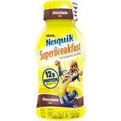 Nestle Nesquik SUPERBREAKFAST Chocolate Milk Beverage