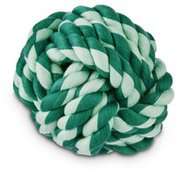 Leaps & Bounds Extra Small Green Assorted Monkey Fist With Handle Dog Toy