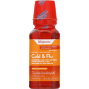 Walgreens Cold & Flu, Daytime, Non-Drowsy