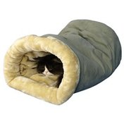 """Armarkat 22"""" x 14"""" Sage Green & Beige Hideaway Cat Bed"""