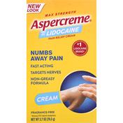 Aspercreme Pain Relief Cream, Max Strength