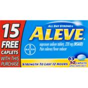 Aleve Naproxen Sodium Tablets