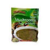 Previously Frozen Mushroom Soup